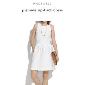 Madewell Pierside ZIP-Back Dress